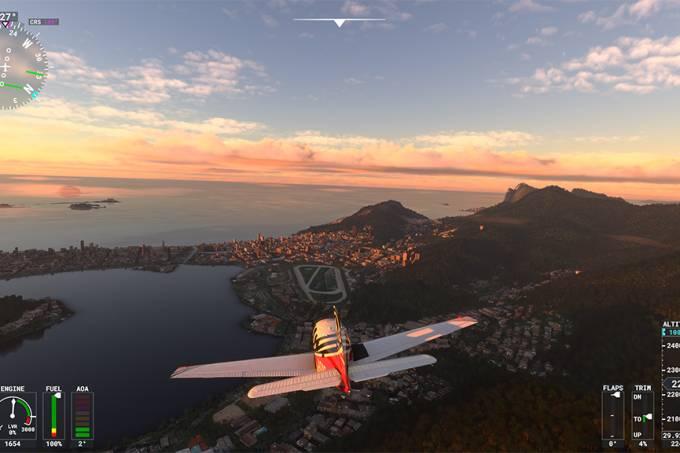 Flight Simulator no Xbox