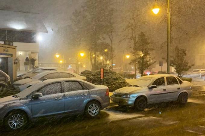 O que a neve no sul do Brasil tem a ver com o aquecimento global