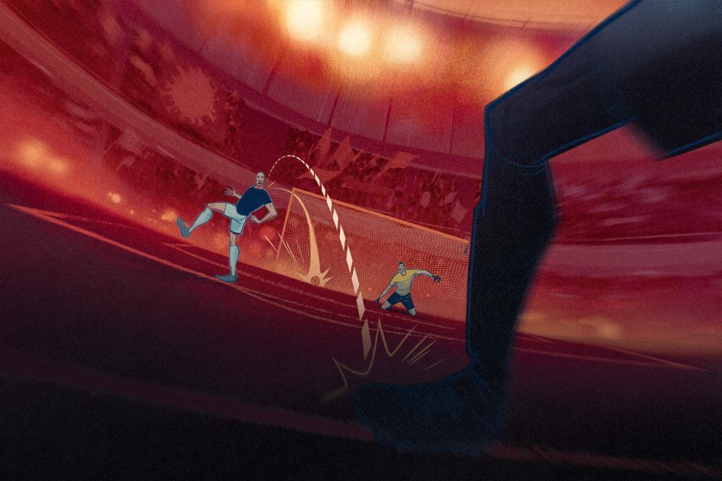 Durante a covid, as células de defesa podem marcar um gol contra: acabam destruindo as estruturas pulmonares que deveriam proteger.