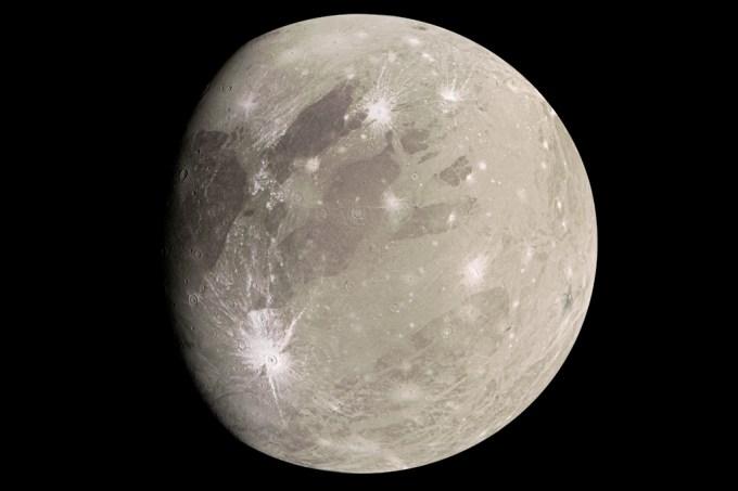 Astrônomos detectam vapor de água na Lua Ganimedes de Júpiter pela primeira vez