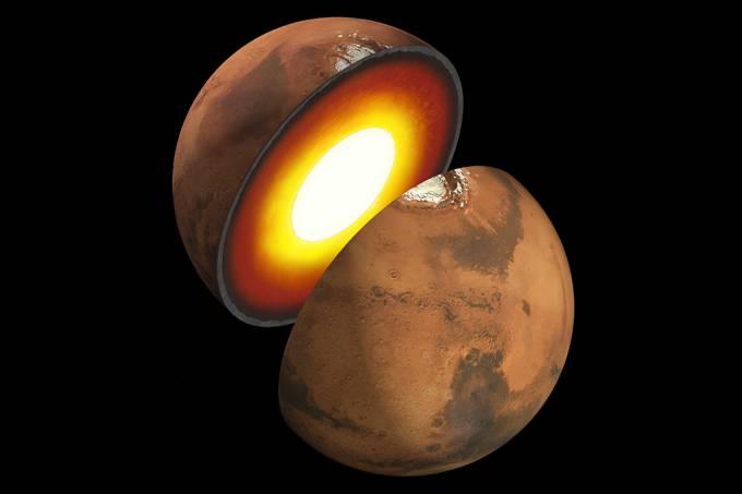 NASA lança o primeiro mapa detalhado do interior de Marte