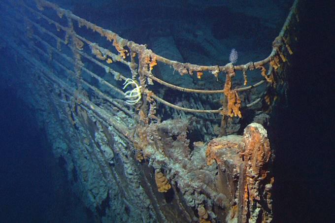 Empresa organiza expedições para visitar os destroços do Titanic – antes que ele desapareça