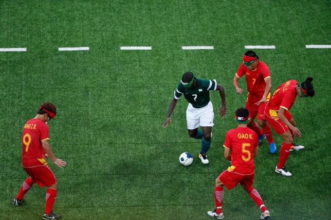 Brasil vence a China de virada, no Futebol de 5