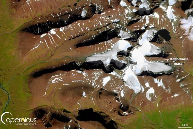 Montanha mais alta da Suécia está encolhendo com as mudanças climáticas