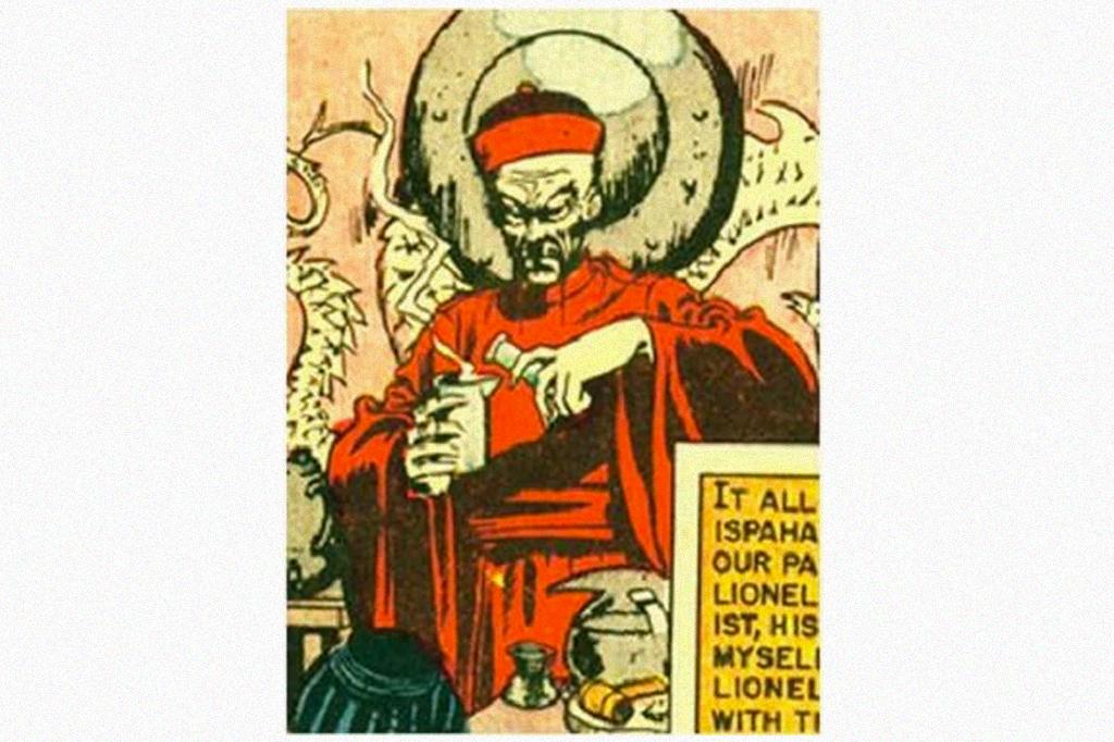Ilustração de Fu Munchu.