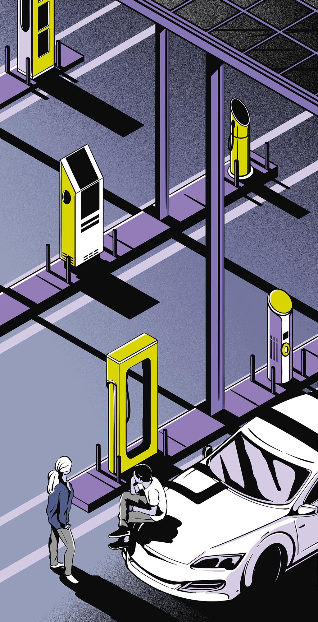 Os carros elétricos usam vários tipos de carregador. Isso dificulta a construção dos postos de recarga – e atrapalha a vida de quem tem carro elétrico.