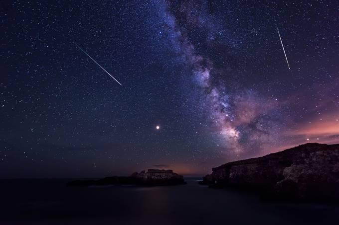 Como assistir à chuva de meteoros Perseidas esta semana