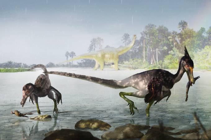 Dinossauro descoberto pelo Museu Nacional