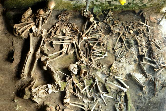 Análise revela dieta de vítimas do Vesúvio