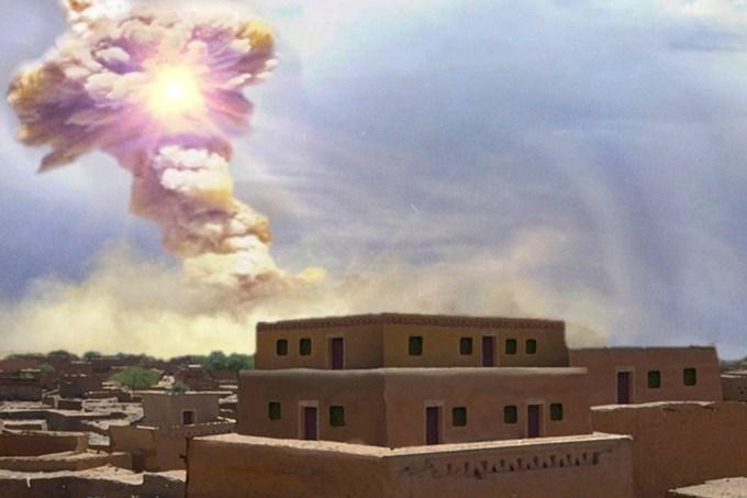 Asteroide com potência de mil bombas de Hiroshima destruiu cidade do Oriente Médio há 3,6 mil anos