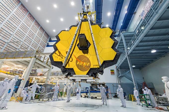 Telescópio espacial James Webb, da Nasa, deve ser lançado em dezembro