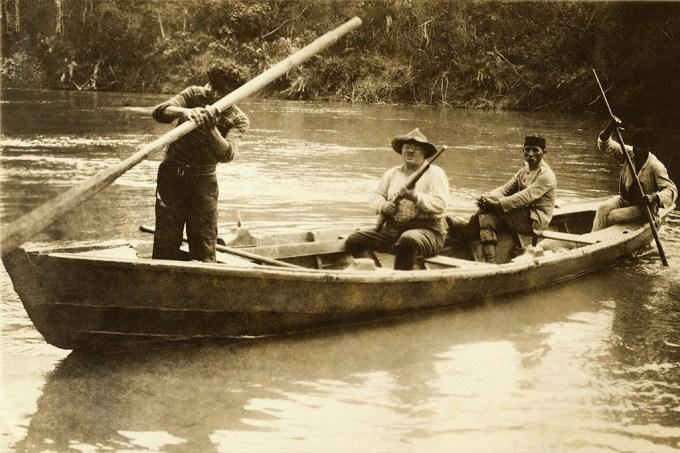 Theodore Roosevelt, ex-presidente americano, mapeou um dos últimos rios brasileiros em 1914 4